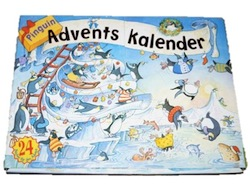 Pinguin Adventskalender für Kinder